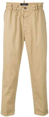 DSQUARED2 ruched waist trousers