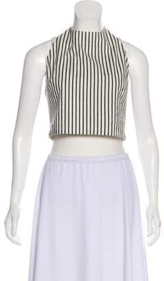 Alice + Olivia Cropped Halter Top w/ Tags