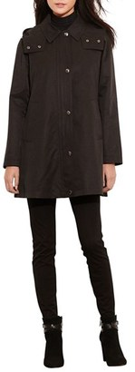 Women's Lauren Ralph Lauren A-Line Jacket With Removable Liner $230 thestylecure.com