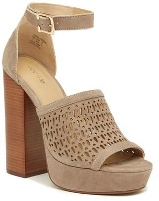 Joe's Jeans Lorne Perforated Platform Sandal