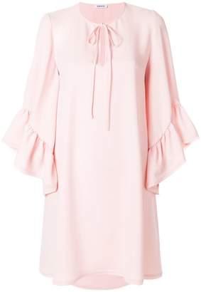 P.A.R.O.S.H. peplum cuffed mini dress