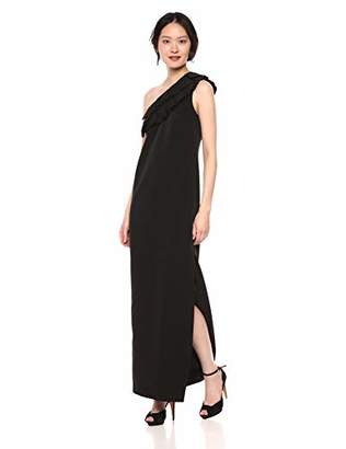 Trina Turk Women's La Cruz 2 One Shoulder Gown