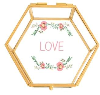 Cathy's Concepts Love Glass Keepsake Box