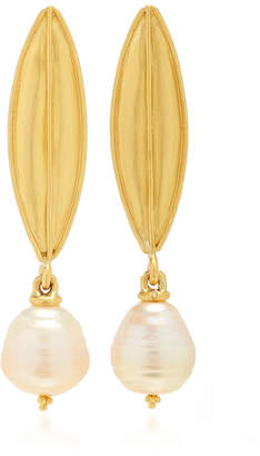 Laurèl Prounis Drop Earrings with South Sea Pearl