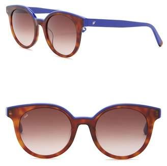 Web WE0195 51mm Round Sunglasses