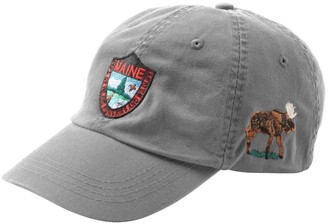 L.L. Bean L.L.Bean Maine Inland Fisheries and Wildlife Baseball Cap, Moose