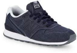New Balance Logo Canvas Sneakers