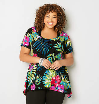 Avenue Tropical Sharkbite Top