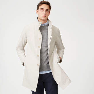 Club Monaco Lightweight Funnel Mac Coat