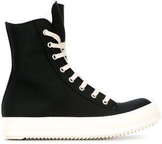 Rick Owens DRKSHDW 'Vegan' sneakers $755 thestylecure.com