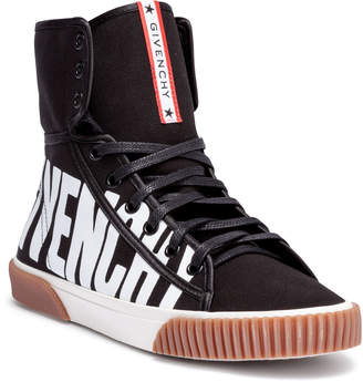 Givenchy Black and white logo boxing sneakers