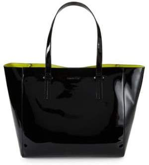 KENDALL + KYLIE Patent Logo Tote