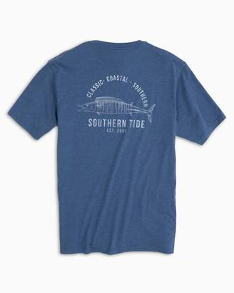 e441a583 Southern Tide Coastal Fish Series Wahoo T-shirt