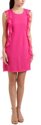 Julie Brown Silk Shift Dress