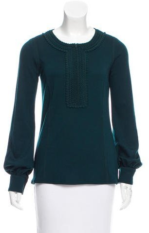 Andrew GnAndrew Gn Wool Embroidered Tunic w/ Tags