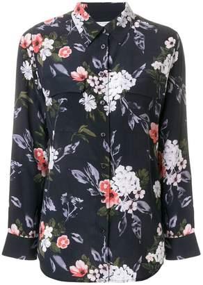 Equipment floral print button shirt