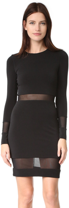 alice + olivia AIR Madie Long Sleeve Dress $285 thestylecure.com