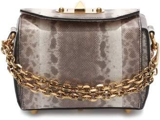 Alexander McQueen Mini Box Genuine Snakeskin Bag