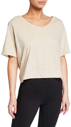 Varley Marr 2.0 Cotton Open-Back Tee