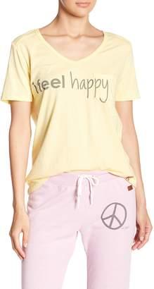Peace Love World James Pocket I feel Happy Tee