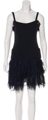 Chanel Wool Tweed Dress