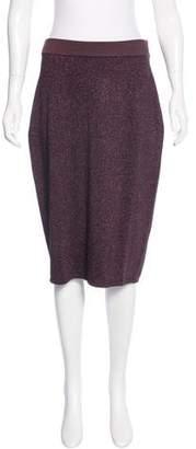 Rag & Bone Metallic Pencil Skirt