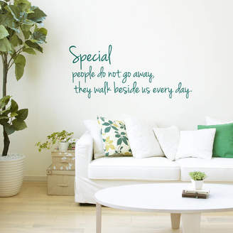 SirFace Graphics Special People Quote Wall Sticker