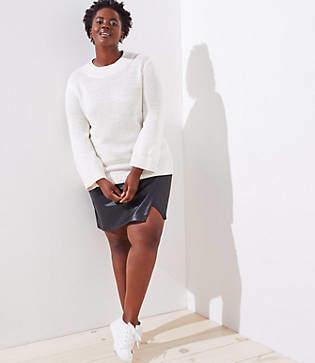 LOFT Plus Mockneck Sweater
