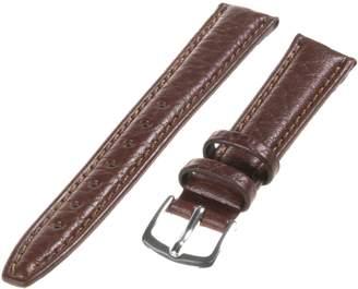 Republic Women's Pebbled Leather Watch Strap 13mm Regular Length, Brown