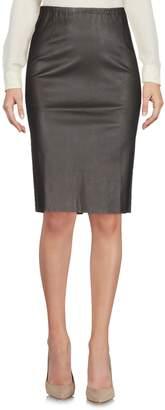 Lamberto Losani Knee length skirts