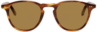 Garrett Leight Tortoiseshell Hampton Sunglasses