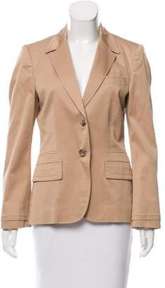 Gucci Structured Vented Blazer