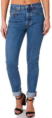 def4c7896e43 Levi s New Women s Levi`S 501 Skinny Jean Cotton Fitted Blue
