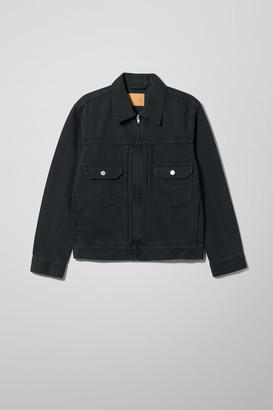 Weekday Sip Mine Black Denim Jacket - Black