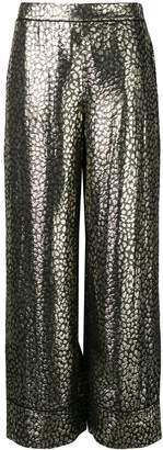 LAYEUR printed loose trousers