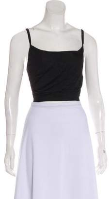 Herve Leger Sleeveless Crop Top