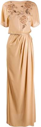 Elisabetta Franchi empire line maxi dress