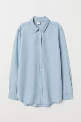 a875e5fbb3 Lyocell Denim Shirt - ShopStyle