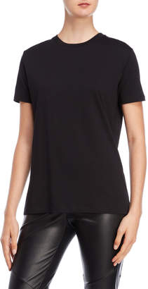 The Kooples Sport Black Short Sleeve Tee