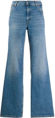 Acne Studios faded flared jeans