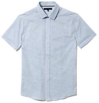 Vince Camuto Dobby Short-sleeve Shirt