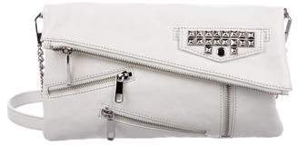 Rebecca Minkoff Stud & Zipper-Accented Leather Bag