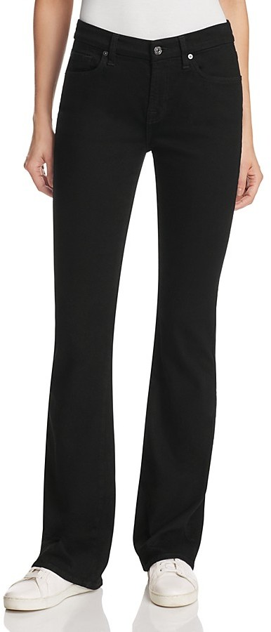 7 For All Mankind7 For All Mankind Kimmie Bootcut Jeans in Washed Over Black