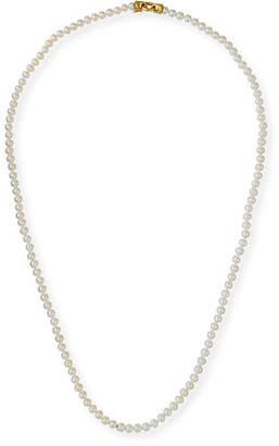 """Elizabeth Locke Serena Long Pearl Necklace, 35"""""""