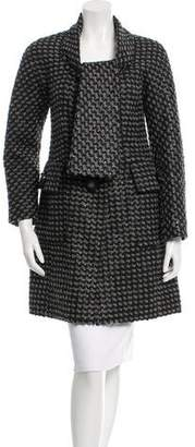 Marc Jacobs Patterned Knee-Length Coat