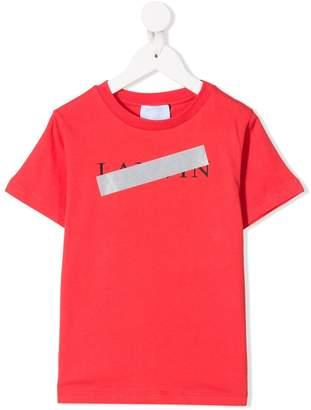 Lanvin Enfant logo tape T-shirt
