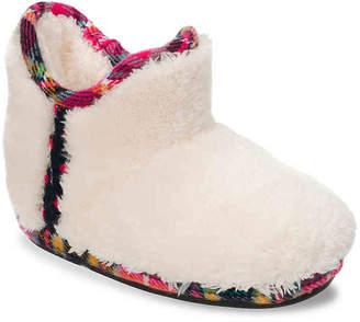 Dearfoams Pile Toddler & Youth Boot Slipper - Girl's