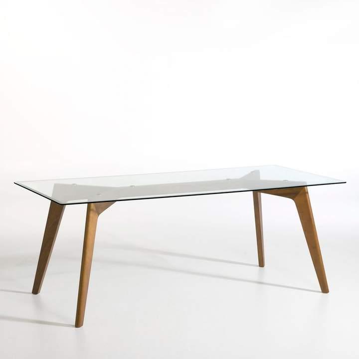 La Redoute Interieurs Table vintage marquetée 4 personnes WATFORD ... 5e337713b0f7