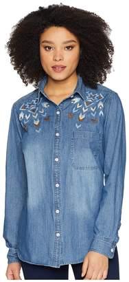 Stetson Denim Button Women's Clothing