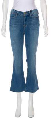Frame Le High Straight Mid-Rise Jeans w/ Tags